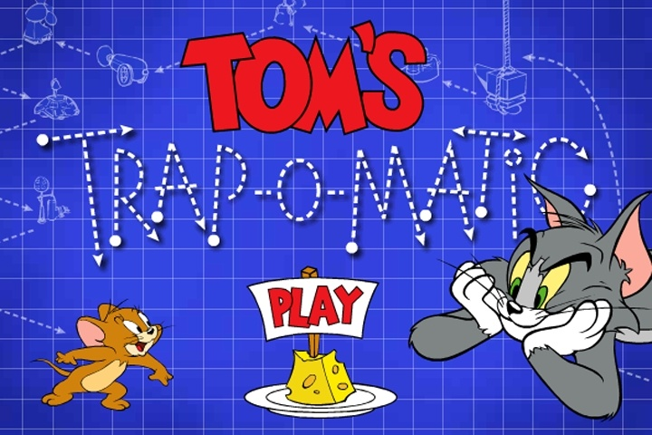 Tom Jerry Tom's Trap O Matic Game - Tom & Jerry games ...