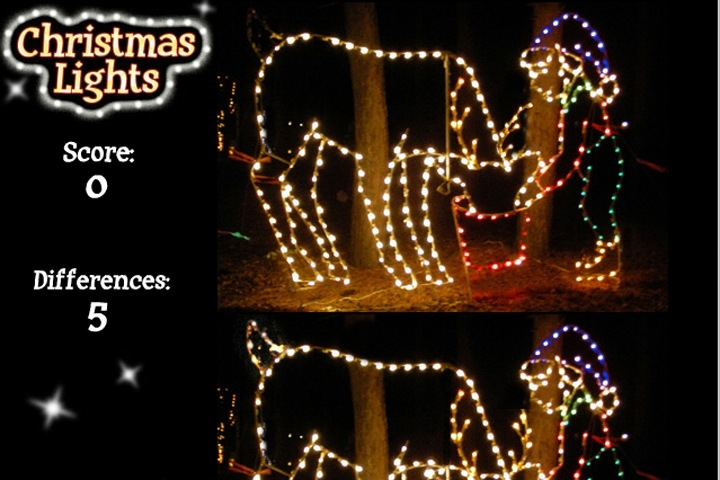 Christmas Lights Game - Christmas Lights Game - Christmas Games - Games Loon